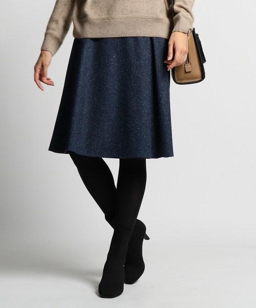 人気新品入荷 [S]ネップツイードスカート(スカート)|INDIVI(インディヴィ)のファッション通販, 馬頭町:f35c1075 --- 5613dcaibao.eu.org