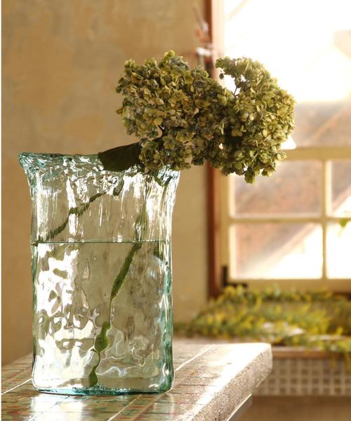 VALENCIA リサイクルガラス フラワーベース OCHO
