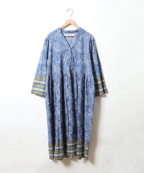 【Market】ペイズリープリントワンピース