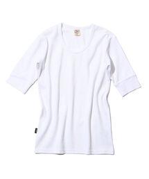 AVIREX(アヴィレックス)のavirex/アヴィレックス/DAILY H/S U-NECK T-SHIRT/デイリー 五分袖 Uネック Tシャツ(Tシャツ/カットソー)