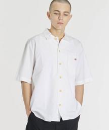 Danton(ダントン)の【DANTON】半袖ワークシャツ MSA MEN(シャツ/ブラウス)