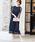 Fashion Letter(ファッションレター)の「総レースロングレーススカート 結婚式ワンピース パーティードレス(ドレス)」 ネイビー