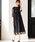Fashion Letter(ファッションレター)の「総レースロングレーススカート 結婚式ワンピース パーティードレス(ドレス)」 ブラック