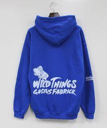 WILD THINGS(ワイルドシングス)のWILDTHINGS × GASIUS FABRICK/ワイルドシングス × ガシアス ファブリック HOODED SWEAT フーデッドスウェット(パーカー)