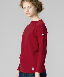 ORCIVAL(オーシバル)の【ORCIVAL】コットンロードフレンチバスクシャツ SOLID WOMEN(Tシャツ/カットソー)