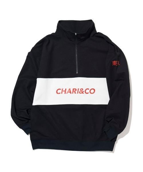 CHARI&CO 333 HIGH NECK PULLOVER シャツ