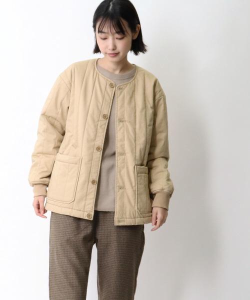 【 MONT KEMMEL / モンケメル 】QUILTED LINNER キルティングジャケット