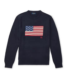POLO RALPH LAUREN(ポロラルフローレン)のアイコニック フラッグ セーター(ニット/セーター)