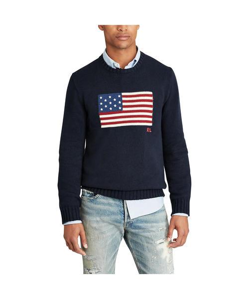 アイコニック フラッグ セーター