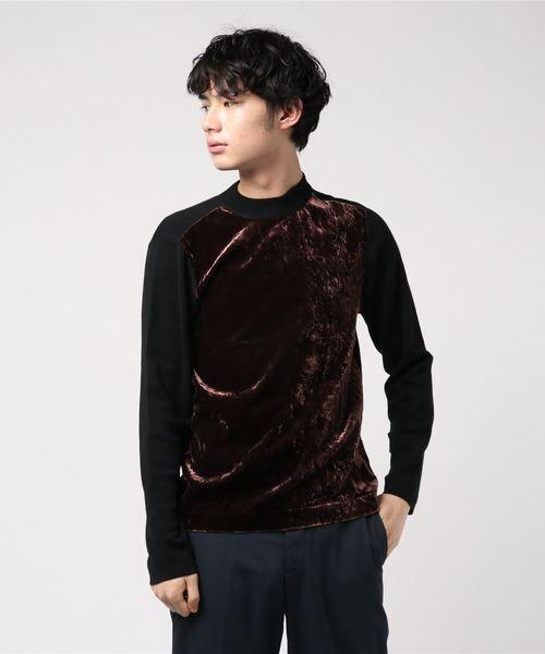 【送料無料/即納】  【セール】【KNOTT MEN】VELVET MEN】VELVET COMBI クルーネックTシャツ(Tシャツ/カットソー)|KNOTT COMBI MEN(ノットメン)のファッション通販, 東串良町:ac24dcfb --- pyme.pe