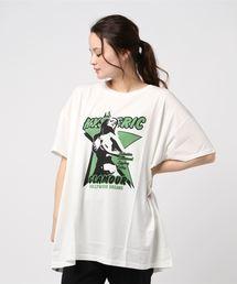 HOLLYWOOD DREAMS ビッグTシャツホワイト