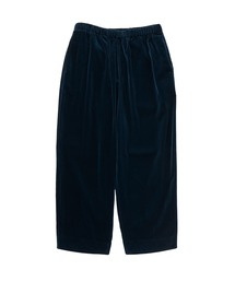 SPRING2020 WIDE TAPERED EASY PANTSブルー
