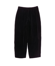 SPRING2020 WIDE TAPERED EASY PANTSブラック