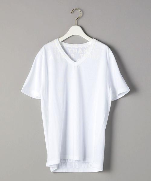 <MM6 Maison Margiela>WHITE AIDS TシャツΨо