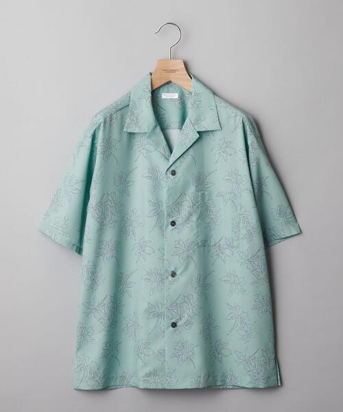 【WEB限定】by オープンカラー パーム アロハシャツ