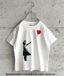 BRANDALISED(ブランダライズド)の【BRANDALISED×MARKEY'S】 プリントTシャツ/Banksy バンクシー(80〜150cm)(Tシャツ/カットソー)