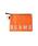 bpr BEAMS(ビーピーアール ビームス )の「BEAMS / ナイロンポーチ M(ポーチ)」 オレンジ