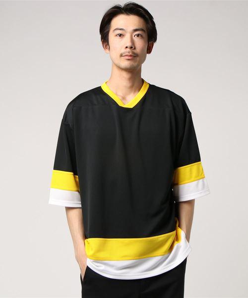 [United Athle/ユナイテッドアスレ] 4.1oz ドライ ホッケー Tシャツ