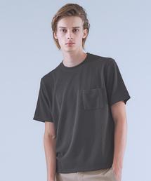 ABAHOUSE(アバハウス)のTR鹿の子ダブルフェイスTシャツ(Tシャツ/カットソー)