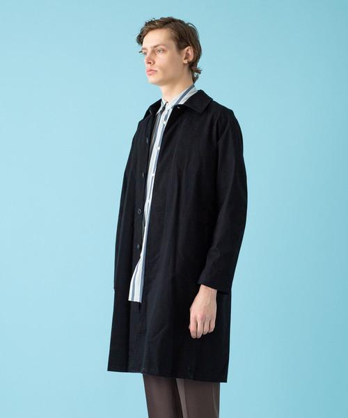 【AUNN】ルーズステンカラーコート