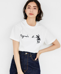 agnes b.(アニエスベー)の【agnes b.  pour ADAM ET ROPE'】レザール Tシャツ(Tシャツ/カットソー)