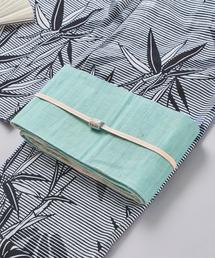<竺仙> 麻 半巾帯