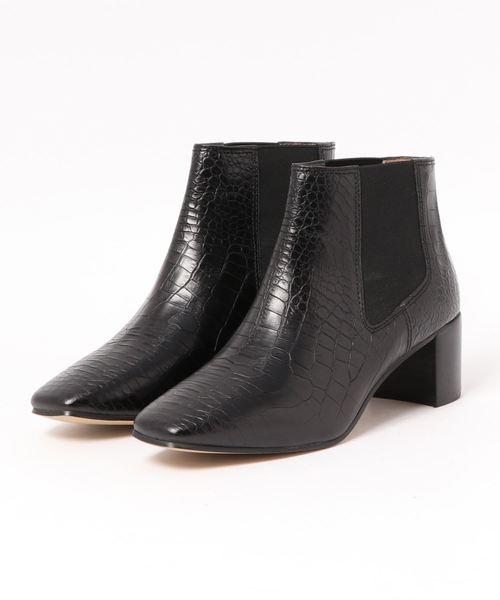 【お気に入り】 (VANILLA MOON)スクエアトゥ型押しサイドゴアブーツ(ブーツ)|VANILLA ROSE MOON(バニラムーン)のファッション通販, グラスマーブル:adfbbf73 --- kredo24.ru