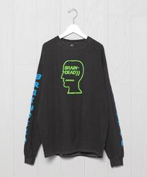 <BRAIN DEAD>VEHICLE LONG SLEEVE T-SHIRT/Tシャツ