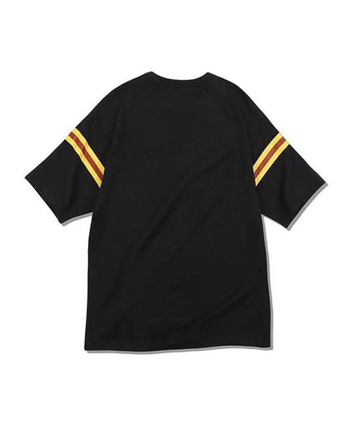 【MAINBOOTH】スプラッターTシャツ(グリーン)