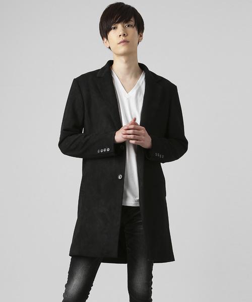 『4年保証』 【セール】ソフトウォームストレッチチェスターコート(チェスターコート)|BLACK by by VANQUISH(ブラックバイバンキッシュ)のファッション通販, C-TRUST:a45e618f --- aclatic.com