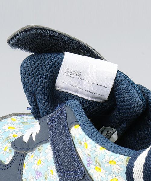 「IFME/イフミー」コラボ花柄ミッドカットスニーカー14cm-19cm
