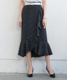 Loungedress(ラウンジドレス)のドットフリルスカート(スカート)