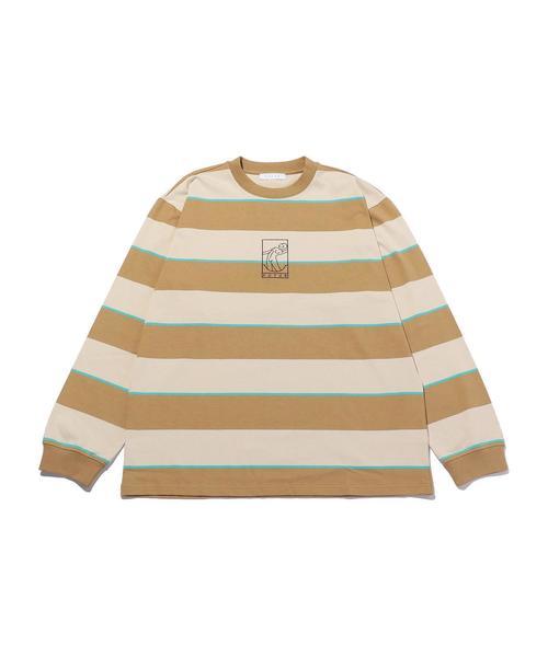 <FUTUR> MW G FIT STRIPE LS/Tシャツ □□