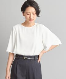 【WORK TRIP OUTFITS】★WTO CS フレアスリーブ ブラウス