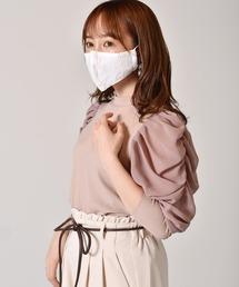ファッションマスクオフホワイト