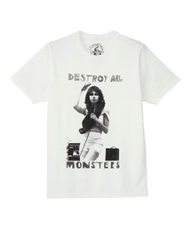 DESTROY ALL MONSTERS/NIAGARA W SNAKE Tシャツホワイト