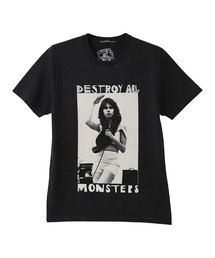 DESTROY ALL MONSTERS/NIAGARA W SNAKE Tシャツブラック