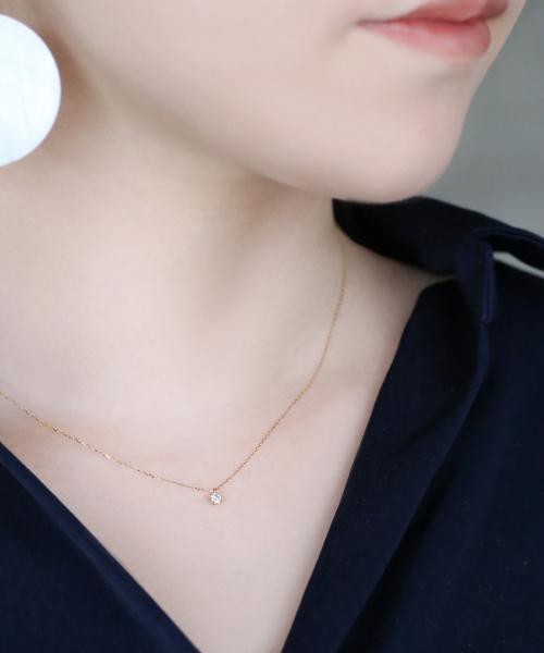 割引購入 一粒ダイヤモンドのネックレス[0.1ct](ネックレス)|SIENA(シエナ)のファッション通販, 河内長野市:c0da6d3d --- kredo24.ru