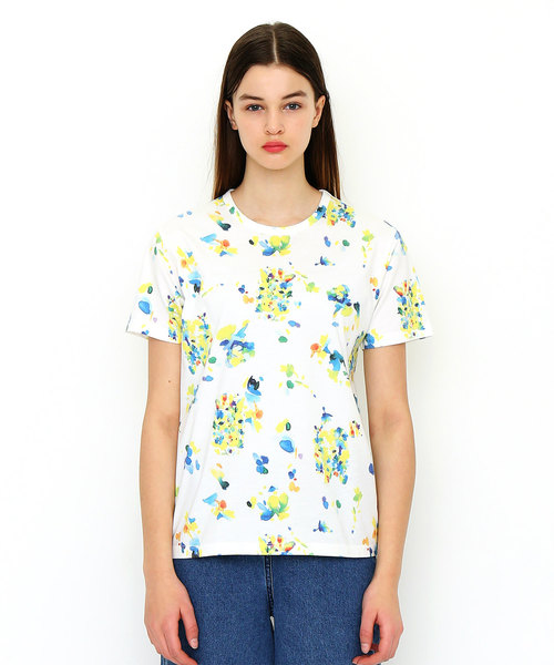 コラボレーションTシャツ/星きさら(象とキリン)