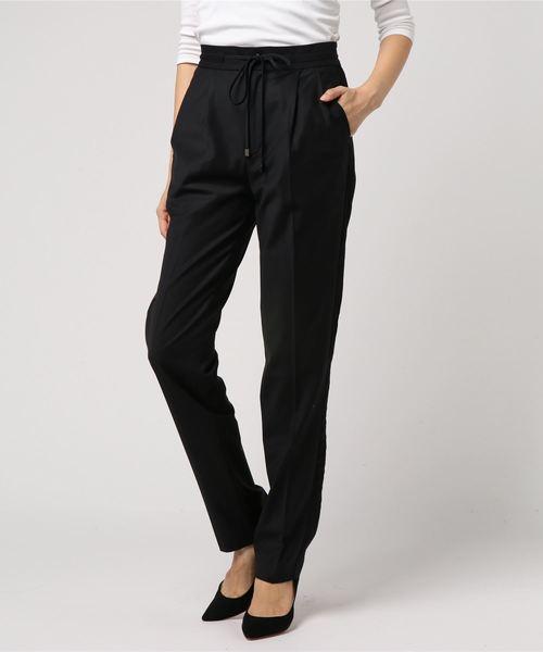 DOUBLE STANDARD CLOTHING(ダブルスタンダードクロージング)の「Sov. ジャガー2wayパンツ(パンツ)」 ブラック