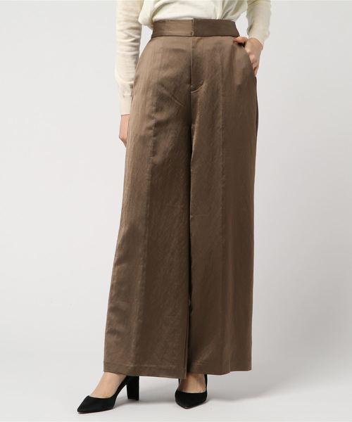 若者の大愛商品 CASAヴィスコースサテンワイドパンツ(パンツ)|CASA FLINE(カーサフライン)のファッション通販, ハッピーサン:a004f79b --- fahrservice-fischer.de