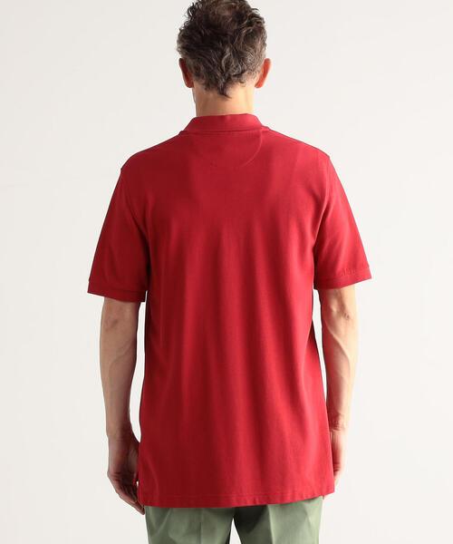 【別注】BROOKS BROTHERS×TOMORROWLAND スーピマコットンピケ ポロシャツ