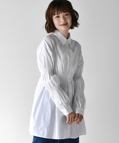 シャーリングシャツ