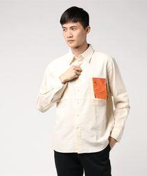 KATO`(カトー)のKATO'/カトー シャンブレーワークシャツ(シャツ/ブラウス)