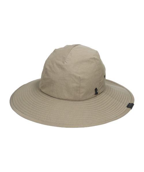 【arth】Nylon Long Brim Hat / 【アース】ナイロン ロングブリム ハット