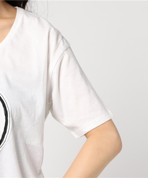 【数量限定】インポート Saver Tee オリジナルTシャツ コットン ホワイト レディース [HOPE/ホープ]