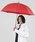 Wpc.(ダブルピーシー)の「「濡らさない傘」アンヌレラ unnurella long(長傘)」|レッド