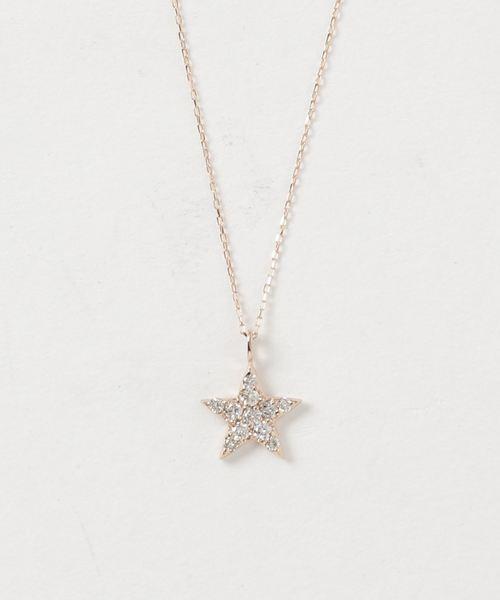 最上の品質な K18ダイヤ スターモチーフネックレス(ネックレス)|con affetto(original)(コン con アフェット)のファッション通販, イイモリチョウ:44f997db --- annas-welt.de