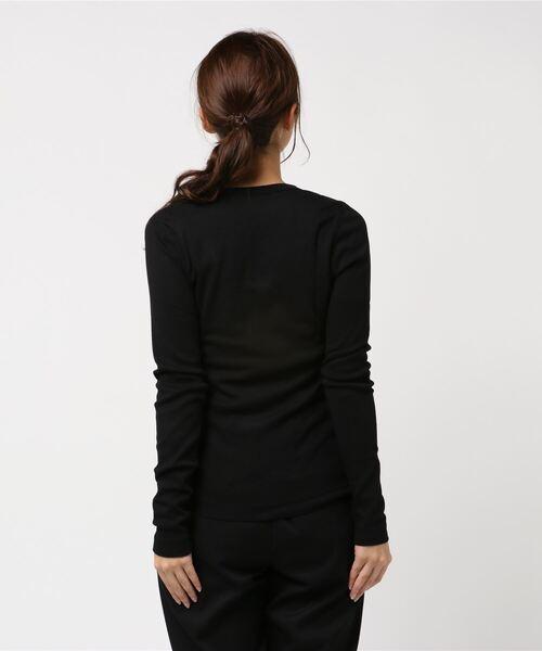 ジェシカ T / Uネック T 長袖