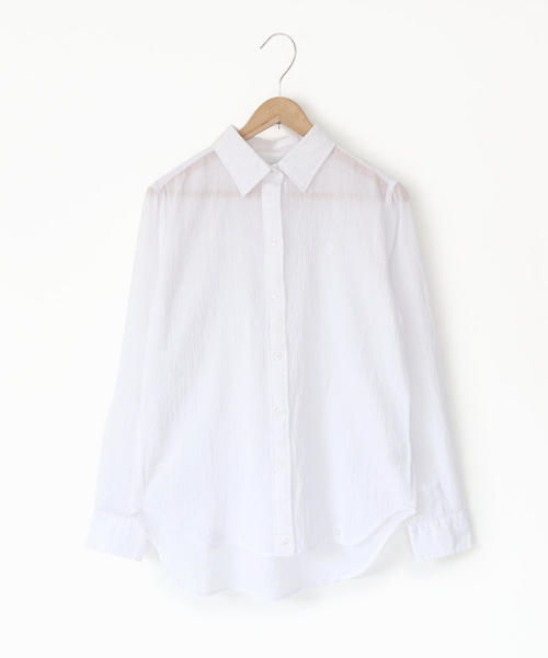 【『リンネル』6月号掲載】強撚コットン2WAYシャツ
